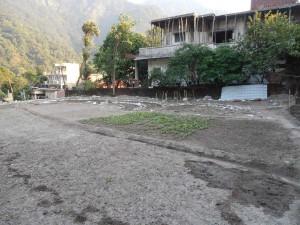 Ramana's garden before